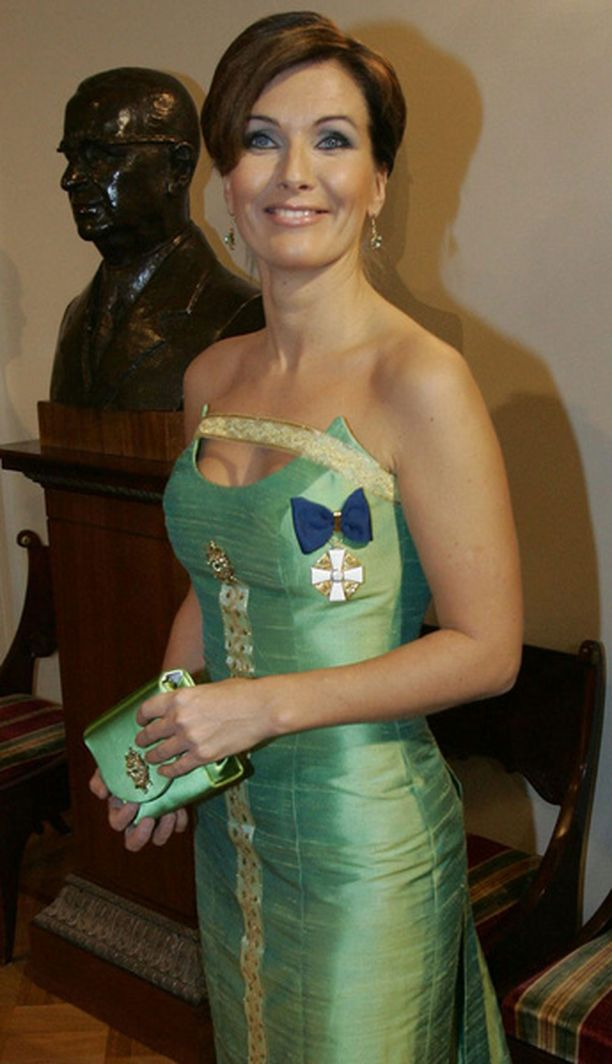Vuonna 2005 Karpela pukeutui vihreään.