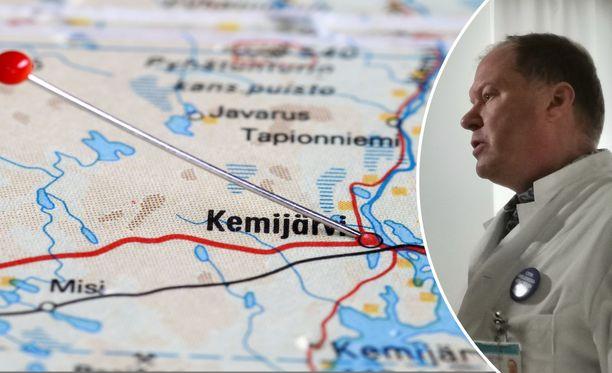 Infektiotautien ylilääkäri Markku Broas kertoo, että Kemijärven tartuntaryppäässä todettiin viime viikolla yksi uusi tartunta.
