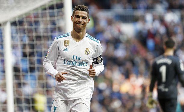 Jalkapalloilu maistuu juuri nyt Cristiano Ronaldolle.