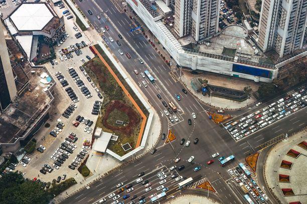 Shenzen on kovaa vauhtia kasvava kiinalainen suurkaupunki.