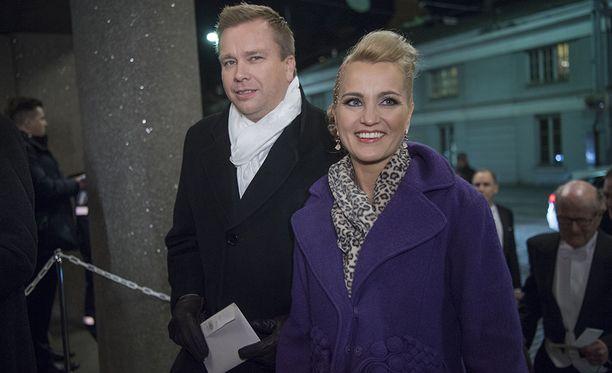Antti Kaikkonen ja Satu Taiveaho ehtivät olla yhdessä 12 vuotta.