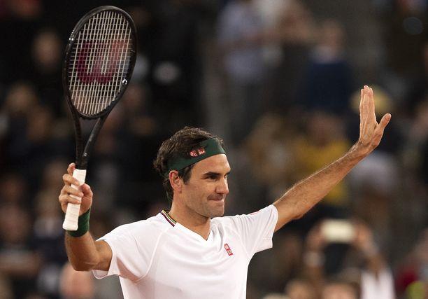 Roger Federer on maailman kovatuloisin urheilija.