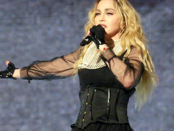 Madonna on parhaillaan laajalla Rebel Heart -maailmankiertueella.