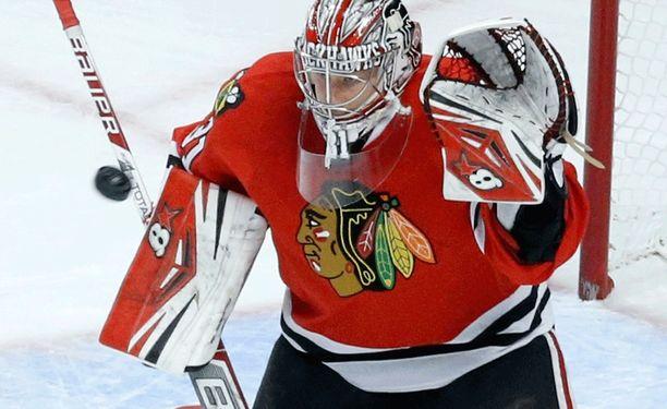 Antti Raanta, 24, on vakuuttanut NHL:ssä.