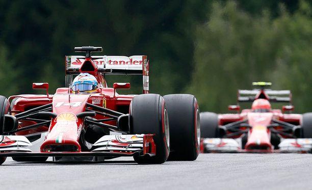 Ferrari on ollut hyvä Itävallassa historian saatossa.