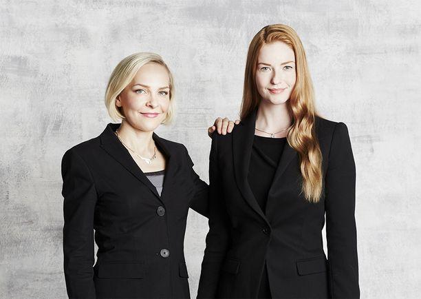 Suvi Haimi ja Laura Kyllönen tekivät tutkimustyötä ulkomailla, mutta muuttivat pari vuotta sitten Suomeen ja perustivat yrityksen.