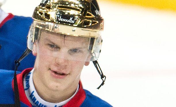 Teemu Eronen siirtyy KHL:ään, mutta ei Jokerien riveissä.