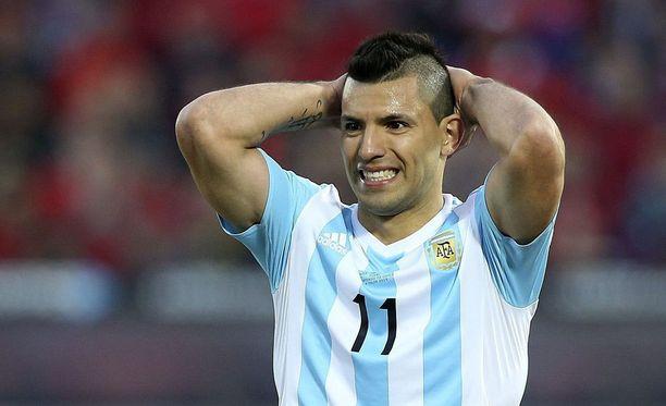 Sergio Agüero ei mahtunut tähdistöjoukkueeseen.
