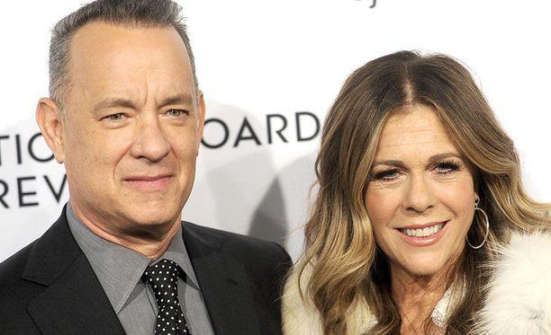 Tom Hanks ja Rita Wilson ovat olleet yhdessä jo useita vuosia.