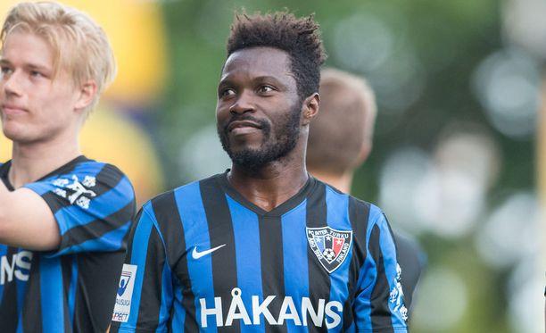 Serge N'Gal iski Interille kaksi maalia Suomen Cupin finaalin kenraalissa.