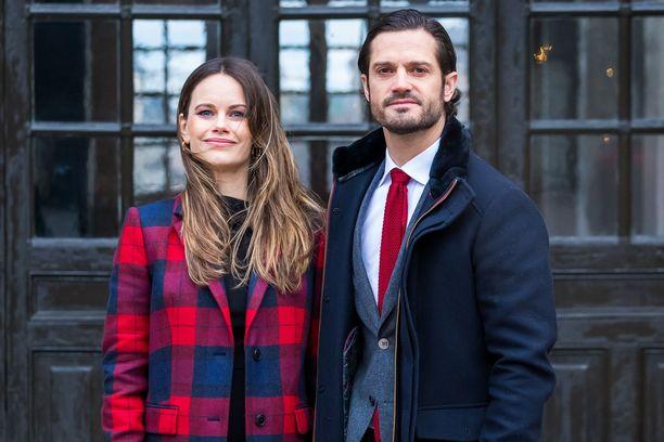 Sofialla ja Carl Philipillä on nyt kolme lasta.