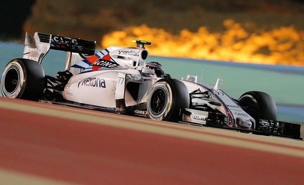 Williams paransi menoaan Espanjassa.