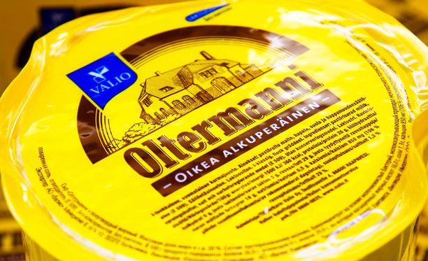 Valio vetää myynnistä juustoviipaleita ja juustoraastetta.