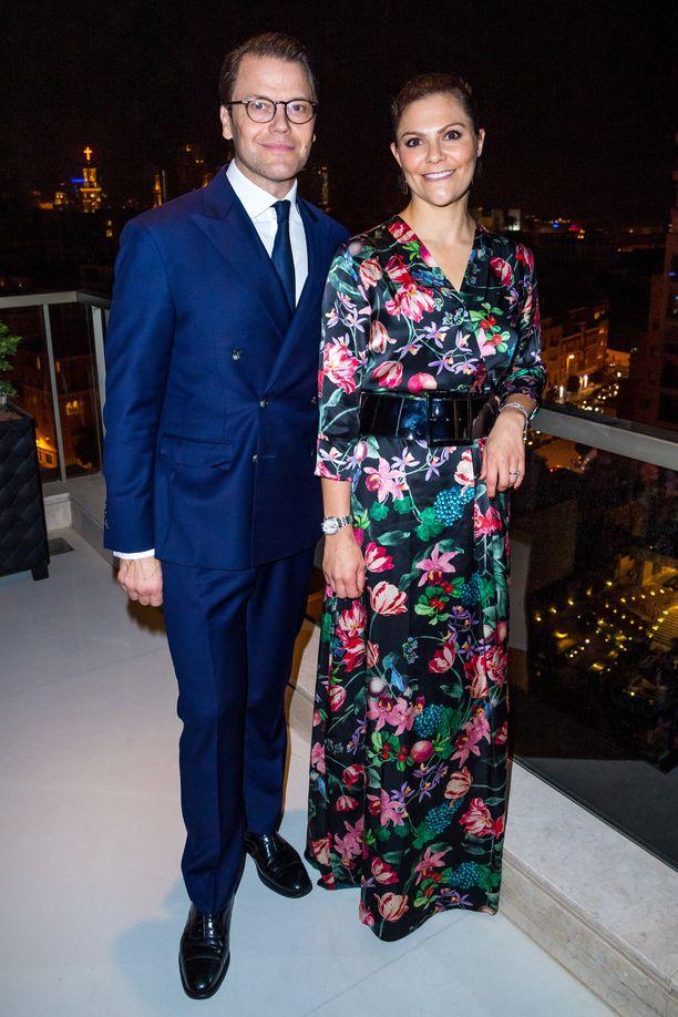 Kruununprinsessa Victoria ja prinssi Daniel edustavat usein yhdessä erilaisissa tilaisuuksissa.