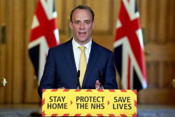 Ulkoministeri Dominic Raab uskoo, että Boris Johnson palaa pian johtamaan Britannian hallitusta.
