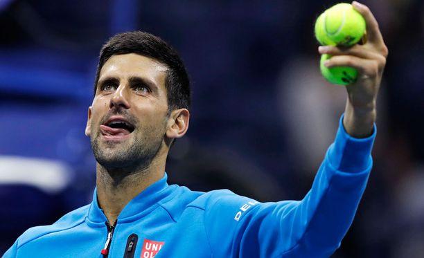 Novak Djokovic on jälleen välierässä.