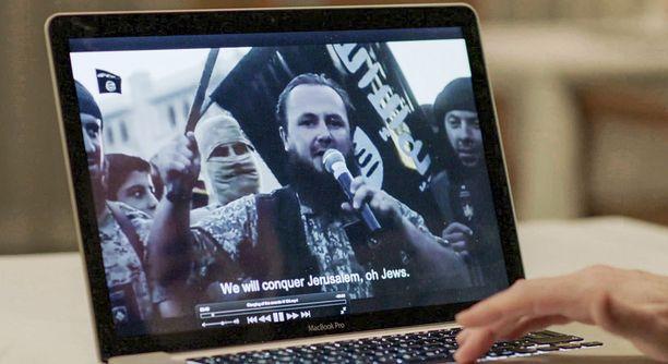Propagandavideot ovat ammattilaisten käsialaa.