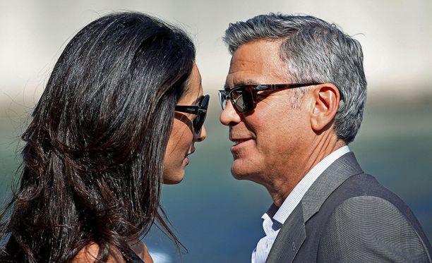 George Clooney ja Amal menivät naimisiin vuonna 2014.
