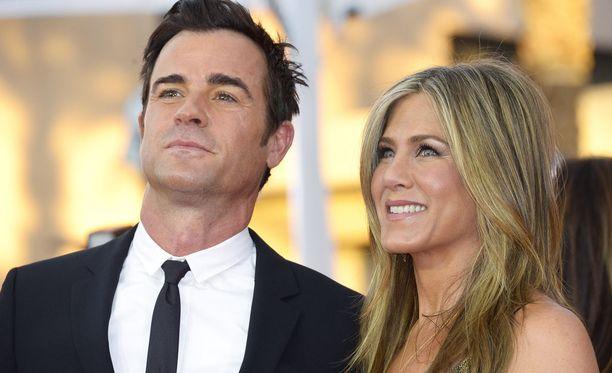 Jennifer Aniston ja Justin Theroux alkoivat seurustella vuonna 2011.