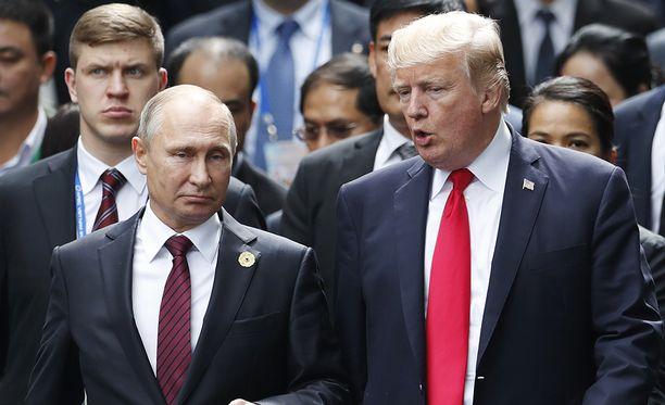 Uutistoimisto Reuters kertoi tiistaina, että Donald Trumpin ja hänen venäläisen virkaveljensä Vladimir Putinin todennäköisin tapaamispaikka on Helsinki.