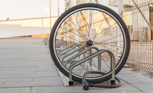 Uudesta sivustosta saattaa olla apua esimerkiksi pyörävarkaustapauksissa. Kuvituskuva.