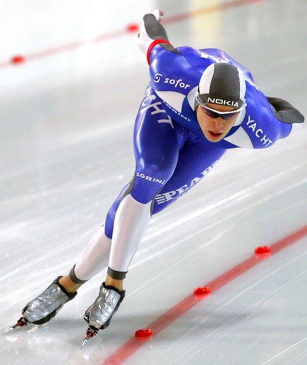 LENNOSSA Pekka Koskela on päässyt tällä kaudella huippuvauhtiin.