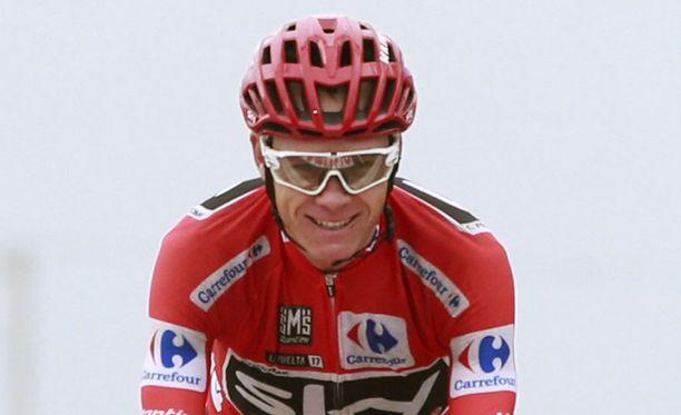 Chris Froome voitti Vueltan.
