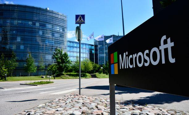 Nokian pääkonttori Keilaniemessä siirtyi Microsoftille.