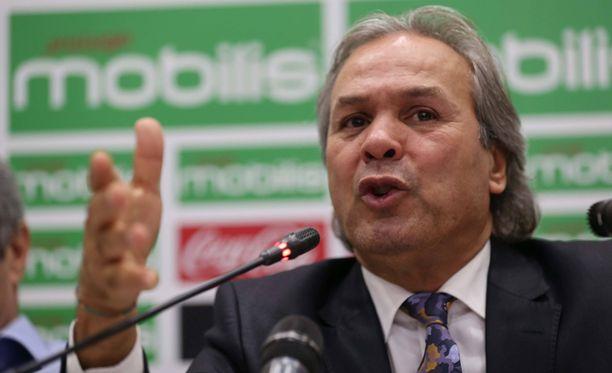 Rabah Madjerin luotsaama Algeria ei edennyt jalkapallon MM-kisoihin 2018.
