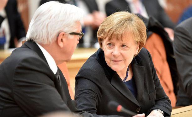 Saksan liittokansleri Angela Merkel on ottanut paikkansa Euroopan johtohahmona.