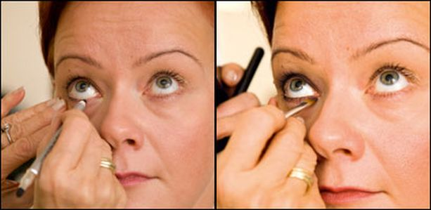 2. Rajauksella saadaan silmän muoto esiin.