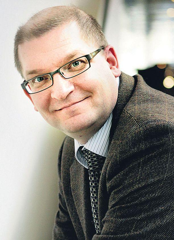 Metalliliiton puheenjohtaja Riku Aalto pääsi neuvottelutulokseen teknologiateollisuuden työehdoista.