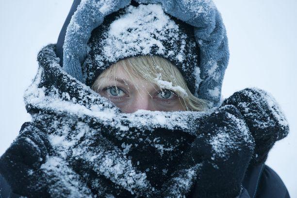 Kylmyys saapuu Suomeen lauhan syksyn jälkeen.