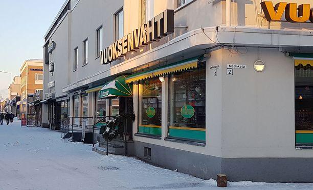 Yle Lappeenrannan vastaava tuottaja oli esiintymässä Vuoksenvahtia vastaapäätä olevassa ravintolassa, ja näki osan yön tapahtumista.