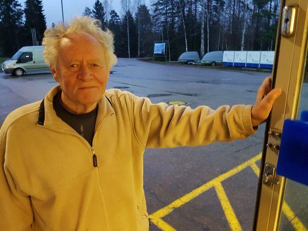 Rainer Senilä on kokenut elämänsä aikana monta menetystä tulipaloissa.
