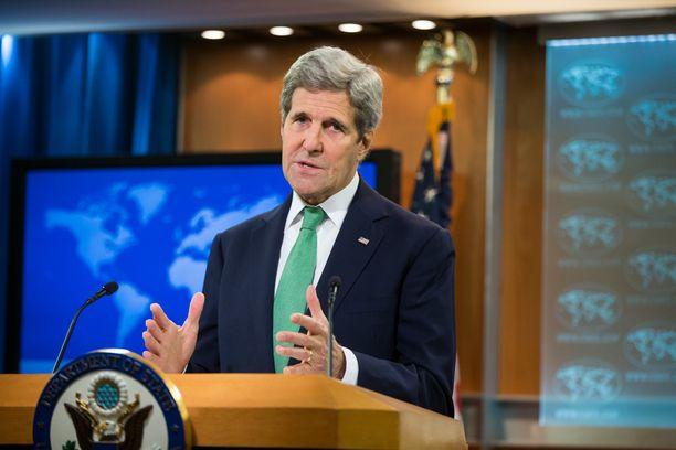 John Kerry julisti tänään Isisin teot kansanmurhaksi.