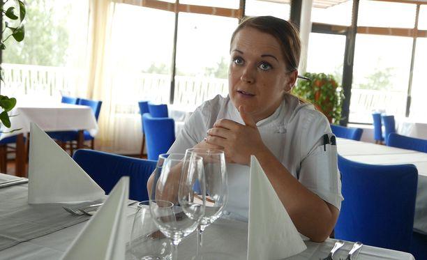 Tarja Silvani, 30, on unelma-ammatissaan lontoolaisen niin sanotun korkeamman profiilin ravintolan keittiömestarina.