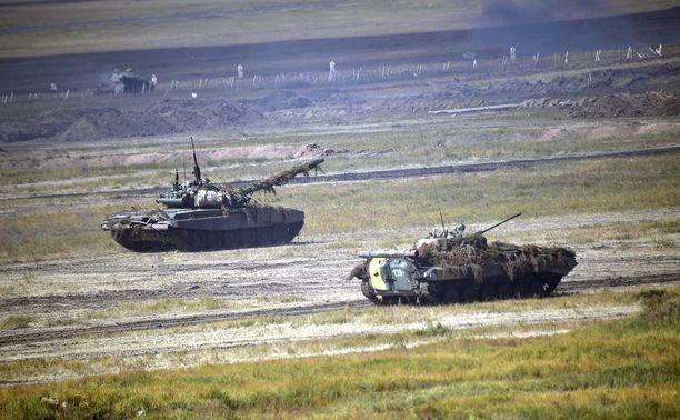 Venäjä näytti viimeksi syyskuussa voimaansa järjestämällä yli 300000 sotilaan Vostok-harjoituksen.