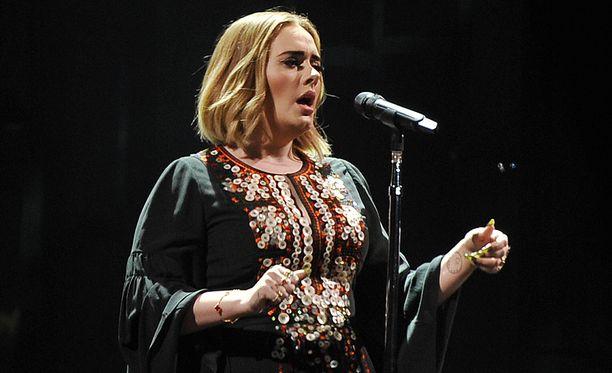Adele lopetti kiertueensa kesken äänihuulten vahingoittumisen takia.