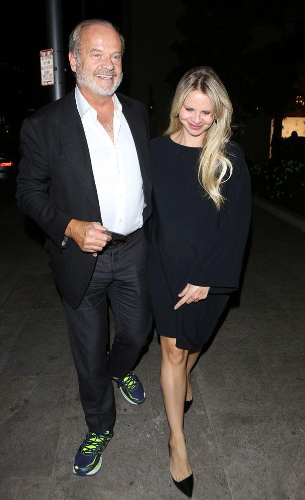 Frasier-tähti kihlasi puolisonsa vuonna 2010.