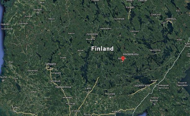 Onnettomuuskirnu sijaitsee Mikkelin keskustan läheisyydessä.