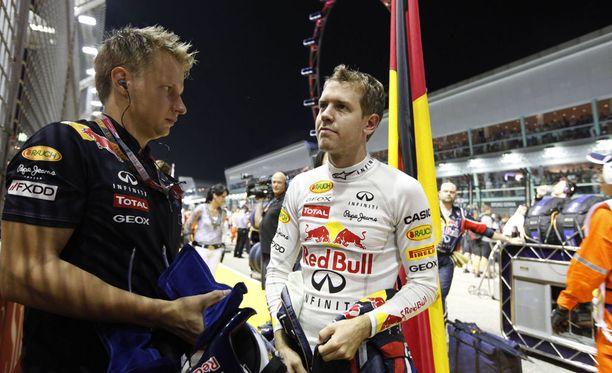 Tommi Pärmäkoski työskenteli aiemmin Sebastian Vettelin valmentajana.
