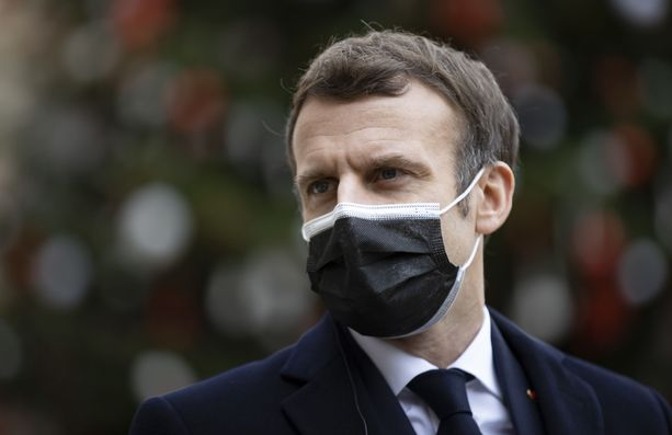 Ranskan presidentti Emmanuel Macron on saanut positiivisen koronatestituloksen.