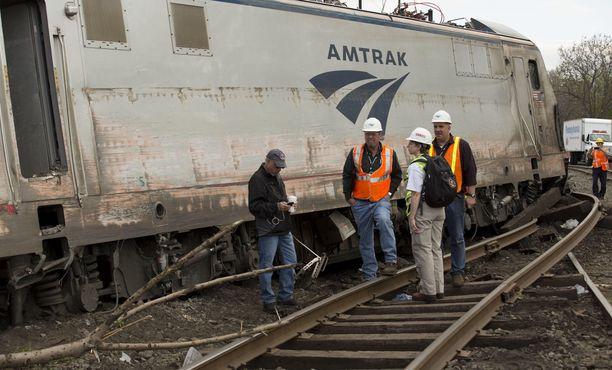 Myös vuonna 2015 Philadelpiassa tapahtui junaonnettomus.