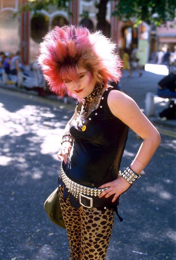 Tyylinäyte 1980-luvulta.