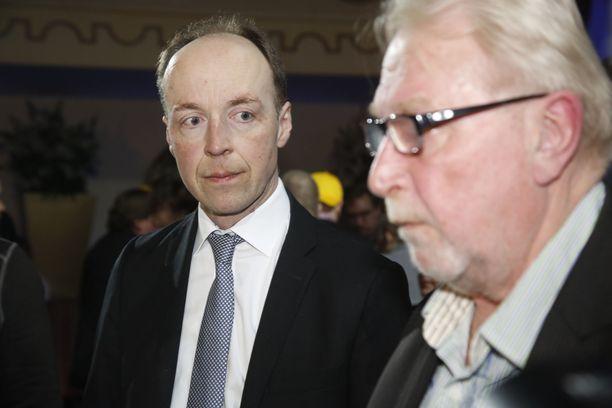 Perusuomalisten puheenjohtaja Jussi Halla-aho.