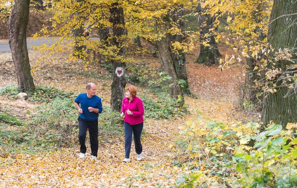 Luonnossa liikkuminen tekee hyvää verenpaineellekin.