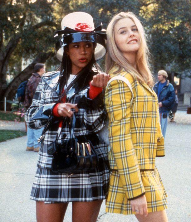 Ruutujakut olivat trendikkäitä 90-luvulla, minkä tiesi Clueless-leffan Cher ystävineen.