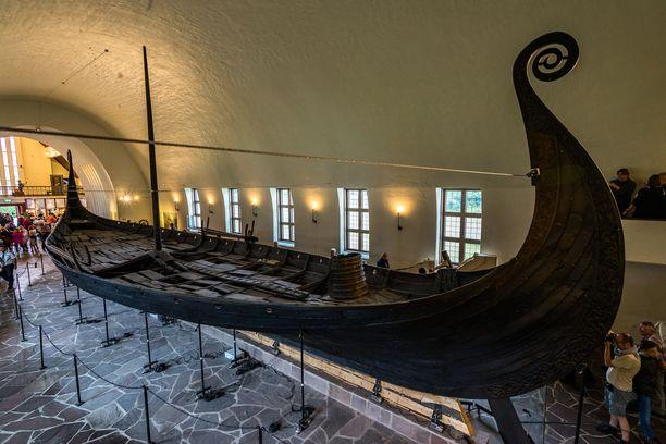 Kaivuutyön onnistuessa löydös päätynee Oslon Viikinkilaivamuseoon. Kuvituskuva.