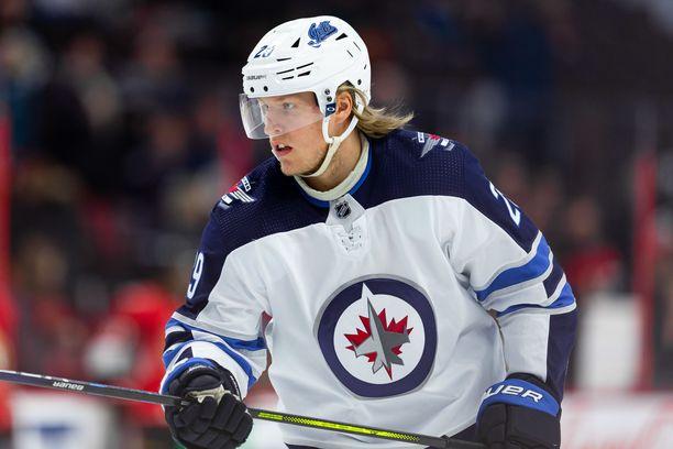 Patrik Laine pelaa neljättä kauttaan Winnipeg Jetsissä.